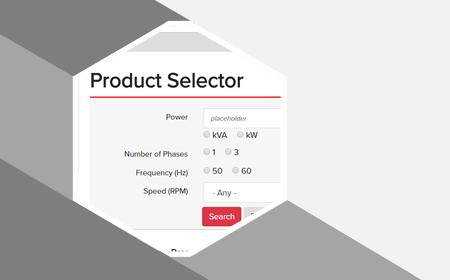 Selector de productos